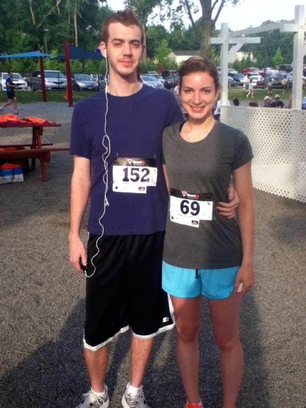 Crossing off the bucket list: Run in a 5k race